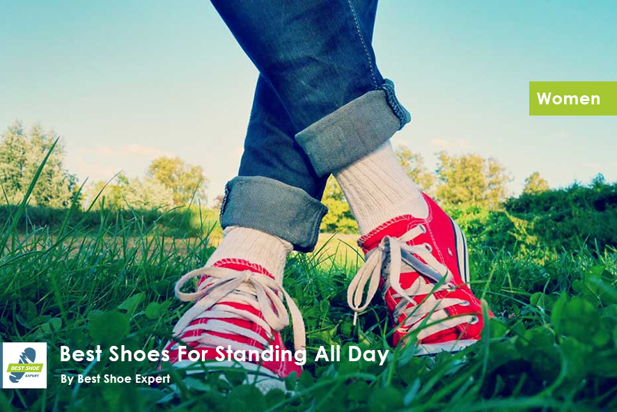 Best Shoes for Standing All Day Women - Featured Image