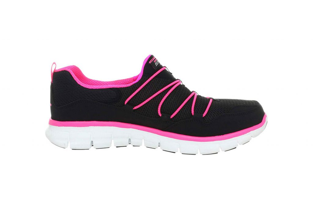 Skechers Memory Foam Fashion Sneaker - Best Shoes for Standing All Day Women