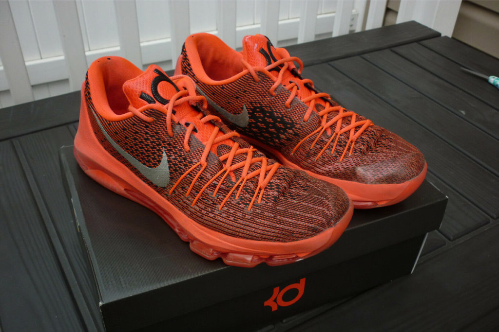 Nike KD 8 Review Image Up View 2
