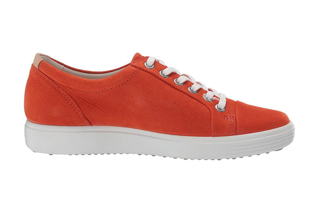 ECCO Womens Soft 7 Sneaker Review Red