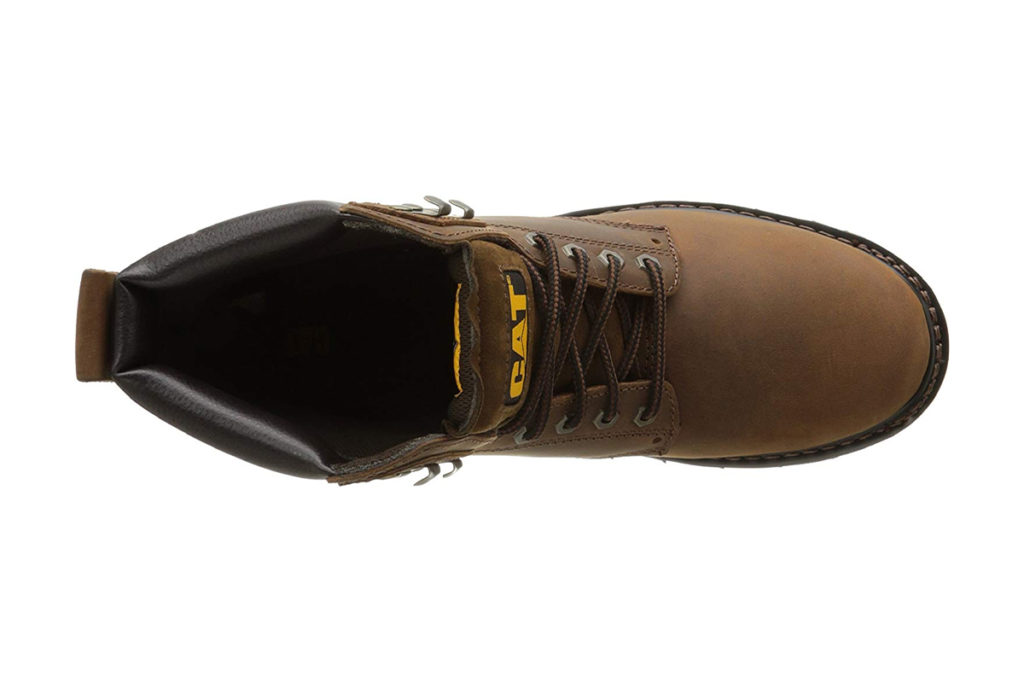 Caterpillar Mens Second Shift 6 Review Up View