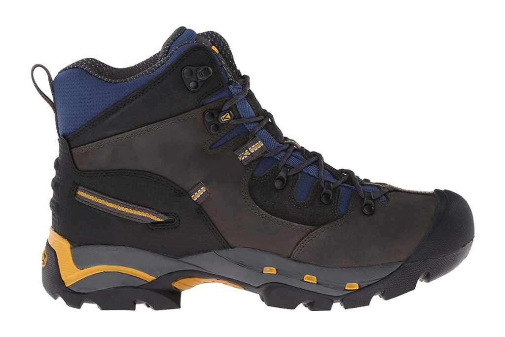 KEEN Utility Mens Pittsburgh 6 Steel Toe Review Blue