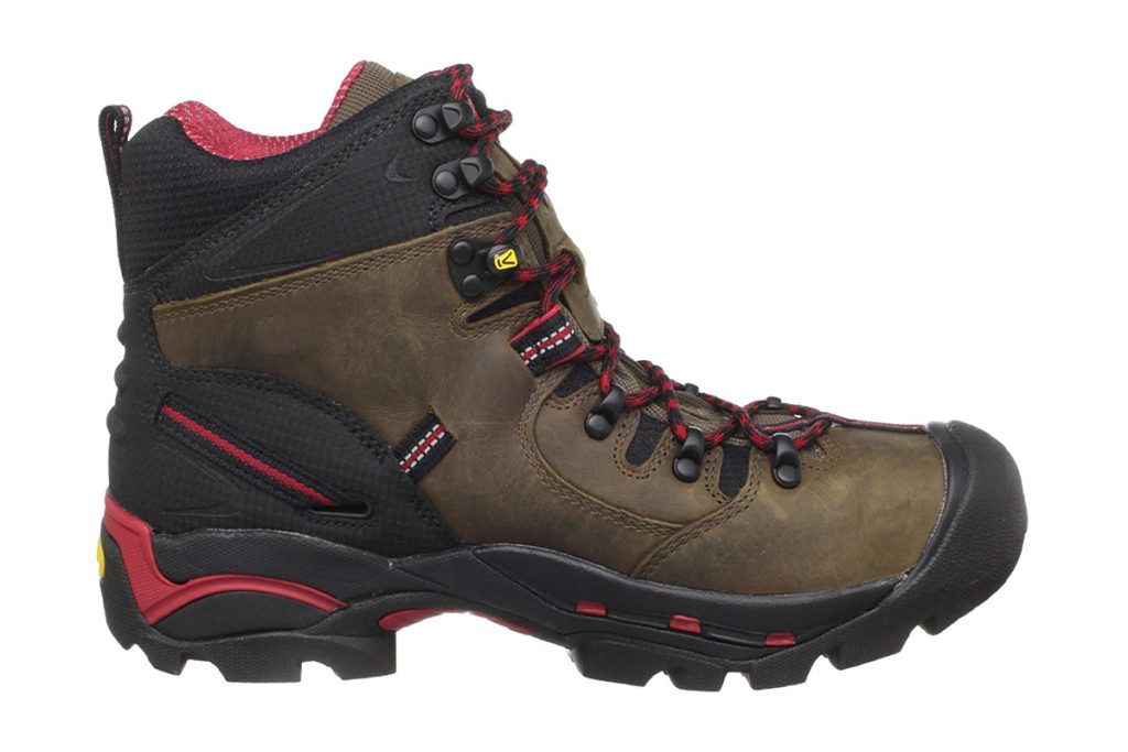 KEEN Utility Mens Pittsburgh 6 Steel Toe Review Side View