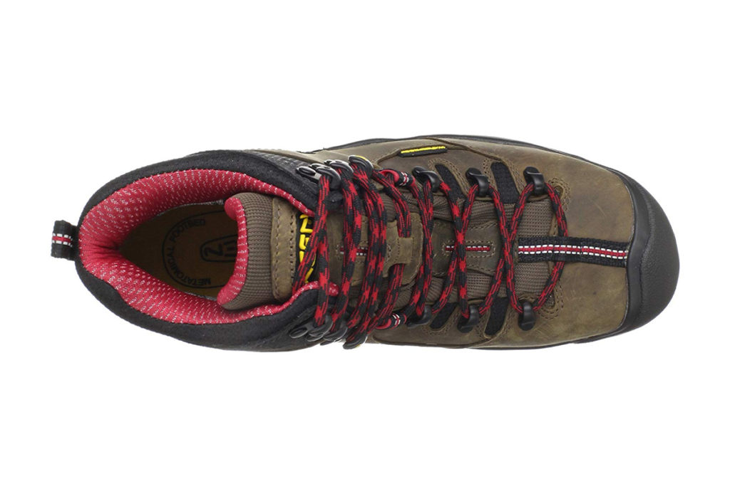 KEEN Utility Mens Pittsburgh 6 Steel Toe Review Up View