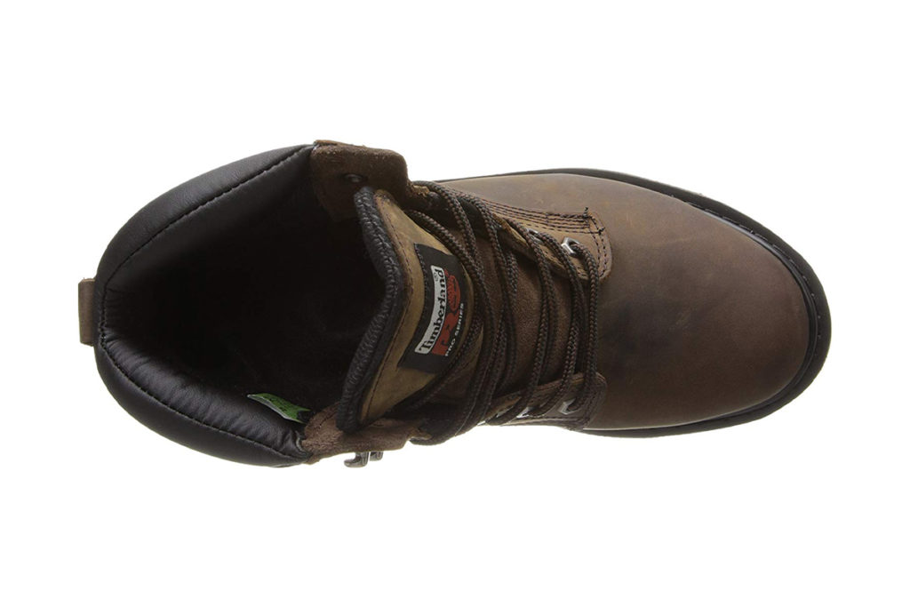 Timberland PRO Mens 6 Pit Boss Review Up View
